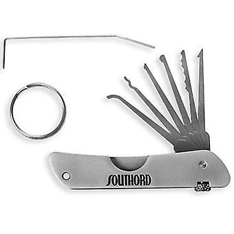 Southord Lockpicking instellen zak mes-stijl sleutelhanger