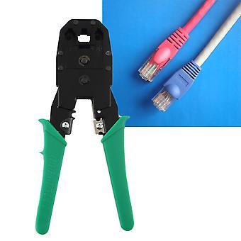 Cable Tester + Crimp Crimper + 100 Rj45 Cat5 Cat5e Connector Plug Network Tool