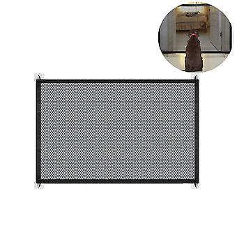 Magic Gate Dog Barriers Foldable Dog Door Guard & Stair Gate