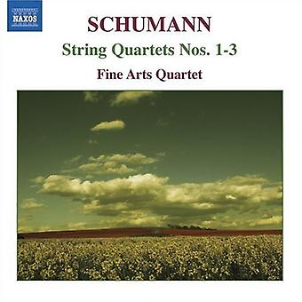 R. Schumann - Schumann: jousikvartettoa nrot 1-3 [CD] USA tuonti