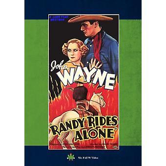 Randy Rides Alone [DVD] USA import