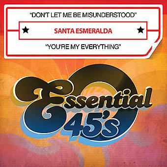 Santa Esmeralda - lass mich missverstanden werden nicht / du bist mein alles [CD] USA import