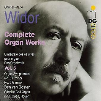 C.M. Widor - Widor: Complete Organ Works, Vol. 3 [CD] USA import
