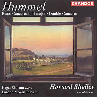J.N. Hummel - Hummel: Concertos for Piano & Violin [CD] USA import