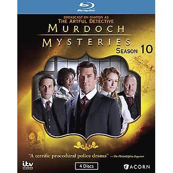 Murdoch Mysteries: Season 10 [Blu-Ray] USA import