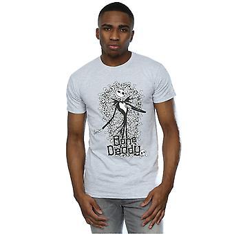 Disney Herren Nightmare Before Christmas Bone Daddy T-Shirt