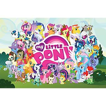 My Little Pony - Cast Poster Poster Print