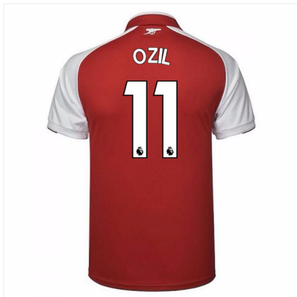 online store dfcf0 d1900 2017-18 Arsenal Home Shirt (Ozil 11)