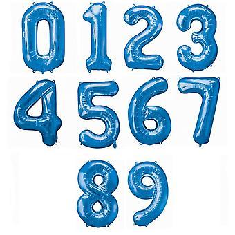 Amscan Supershape sininen määrä ilmapalloja