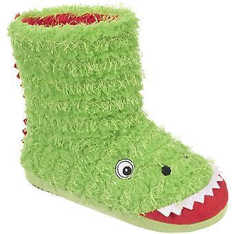 Zadośćuczynienia dla dzieci/chłopcy Dino Nowość Boot kapcie