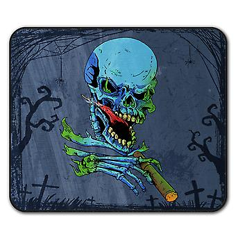 Rasta Skelett Rock Anti-Rutsch-Mauspad Pad 24 x 20 cm | Wellcoda