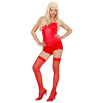 RED LACE CORSET