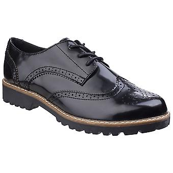 Divaz Womens/Ladies Rita Casual Brogue Shoes
