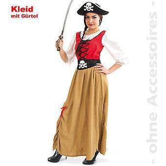 Pirate merenkulkija pirate Lady puku puku hyvät