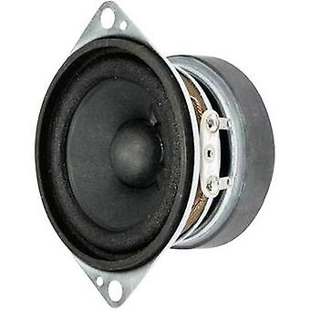 Visaton FRS 5 2 inch 5 cm Wideband speaker chassis 5 W 8 Ω