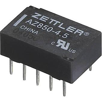 Zettler Electronics AZ850P1-24 PCB relay 24 V DC 1 A 2 change-overs 1 pc(s)