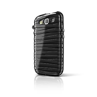 Musubo Rubber Band Case for Samsung Galaxy S3 (Black)