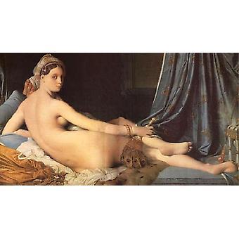 La Grande Odalisque,Jean Auguste Dominique Ingres,80x44cm