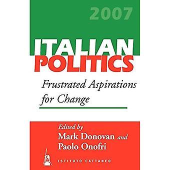 Frustrated Aspirations for Change: 23 (Italian Politics)