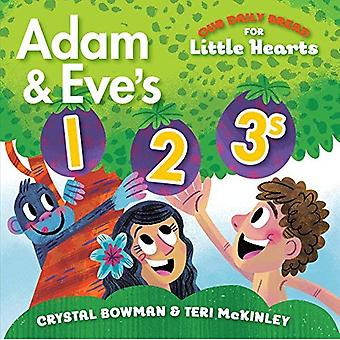 Adam and Eve's 1-2-3s (Our� Daily Bread for Little Hearts) [Board book]