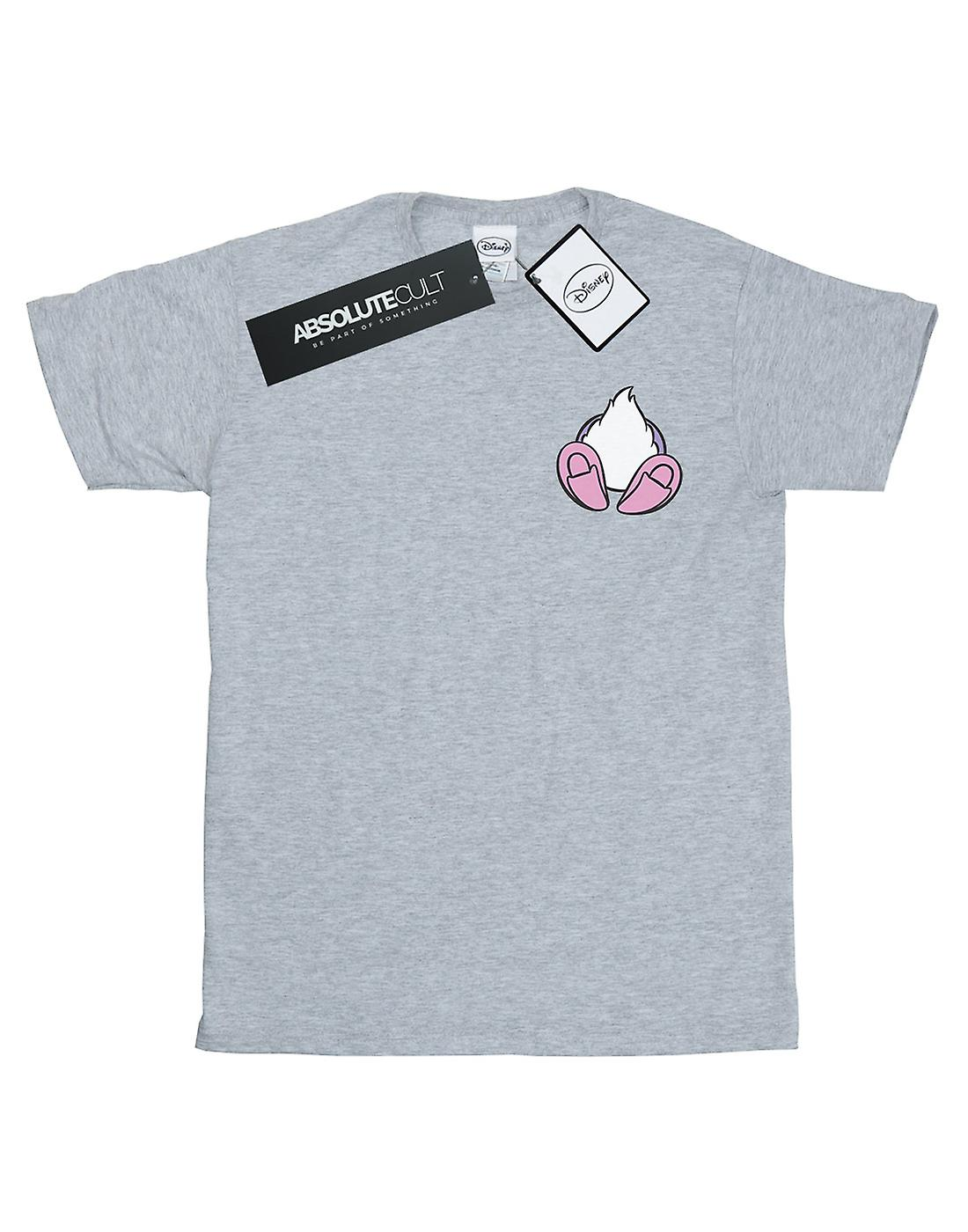 Disney Girls Daisy Duck Backside Breast Print T-Shirt