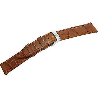 Morellato black leather strap unisex Brown BUBBLES 18 mm A01X2269480041CR18