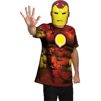 Iron Man vuxen Plus storlek Kit