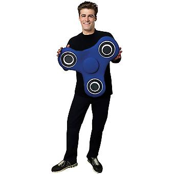 Blue Spinner Adult Costume