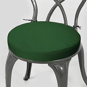 """Gardenista® verde resistente al agua 13 """"Round Bistro silla asiento pad, paquete de 2"""