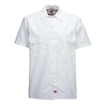 Dickies 1574 Kortärmad arbets skjorta vit