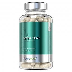 Detox Tone - Cleansing Supplement - Natural & Plant Based - Helps You Feel Cleansed, Lighter & Healthier - Toxin Reduction Regime - 60 Capsules