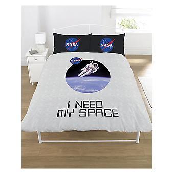 NASA Necesito mi cubierta de edredón espacial y juego de fundas de almohada