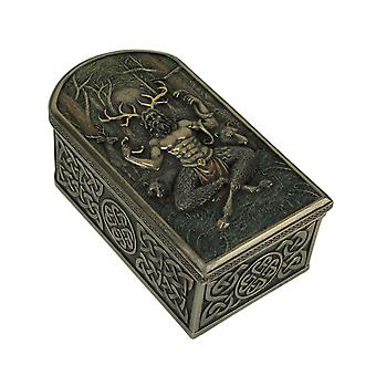Cernunnos Celtic Horned God Of Animals And The Underworld Trinket Box (en)