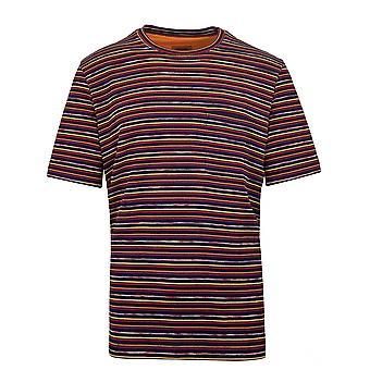 MISSONI Multi-Knit Chest Pocket T-Shirt