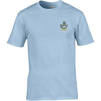 Light Infantry Veteran - Licensed British Army Embroidered Premium T-Shirt