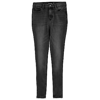 Firetrap Womens High Waisted Jeans Trousers Bottoms Ladies Five Pockets Design