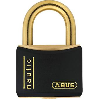 ABUS Nautic messing hængelås 20 mm sort T84Mb / 20 (DIY, Hardware)