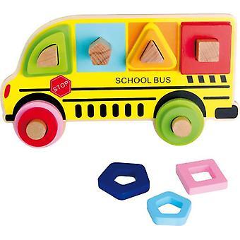 Legler skola buss pussel (spädbarn och barn, leksaker, förskola, pussel och block)