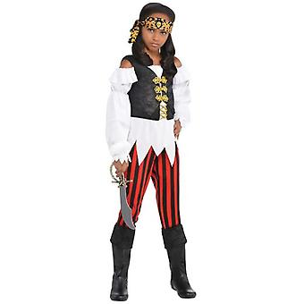 Amscan Costume Pirates Corsair Girl (Babies and Children , Costumes)