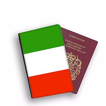 ITALY Flag Passport Holder Style Case Cover Protective Wallet Flags design