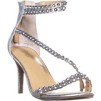 Thalia Sodi naisten Darrla kangas avoin toe erityinen tilaisuus strappy sandaalit