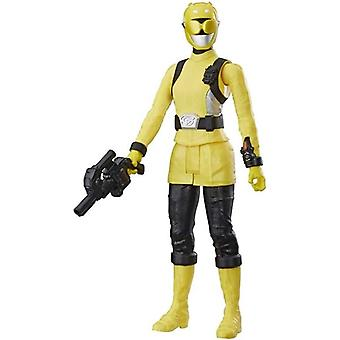 Power Rangers, Beast Morphers-Yellow Ranger 30 cm