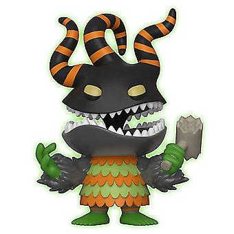 The Nightmare Before Christmas Harlequin Demon Glow US Pop!