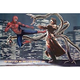 Spiderman 2 (Colliding Reprint) Reprint Poster