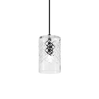 Ideale Lux Cognac 1 Licht Anhänger Licht Trasparent IDL167015