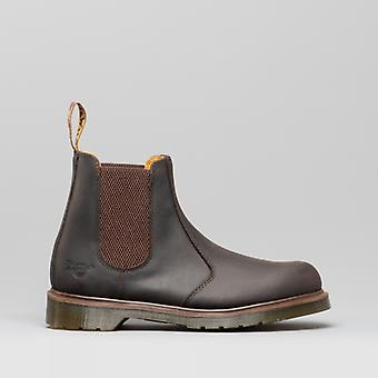 Dr Martens Occupational 8250 Mens Leather Chelsea Boots Gaucho Brown