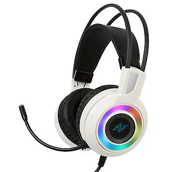 ABKONCORE CH60 REAL 7,1 Gaming Headset fehér
