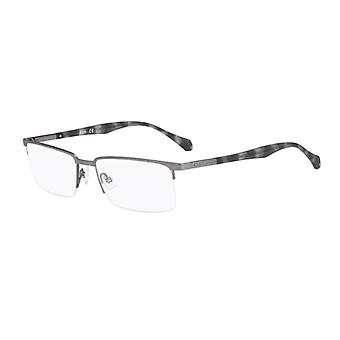 Hugo Boss 0829 Z2F Matte Ruthenium Grey Glasses