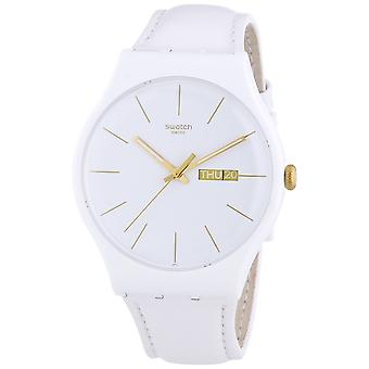 Swatch White Character Ladies Watch SUOW703