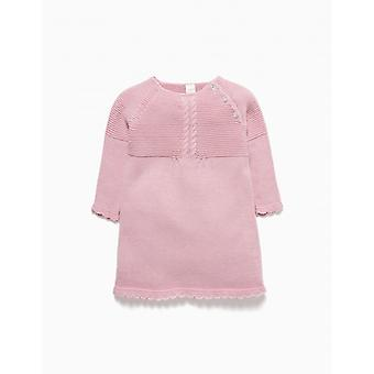 Zippy Nb Dress Knit Pink